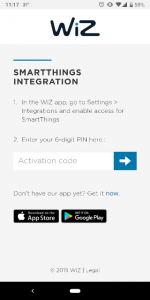 Luminetworx SmartThings Integration