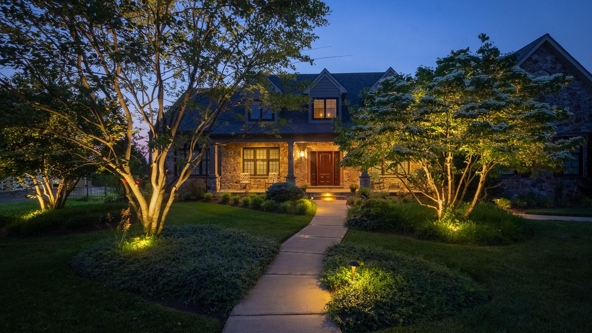 residential outdoor poe lighting